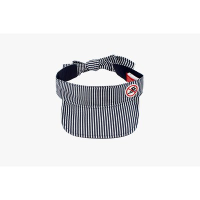 [40% SALE] No swim stripe sun visor