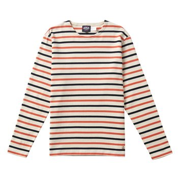 아머럭스 MARINIERE ML ORANGE NAVY