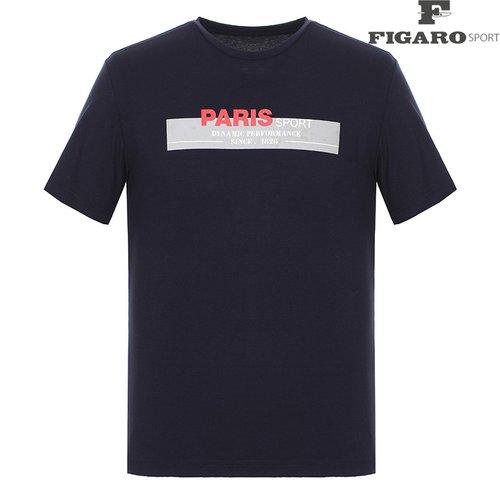5720ce5bfb9 남성 프린팅 라운드 반팔 티셔츠 4F8MTE092M_NA