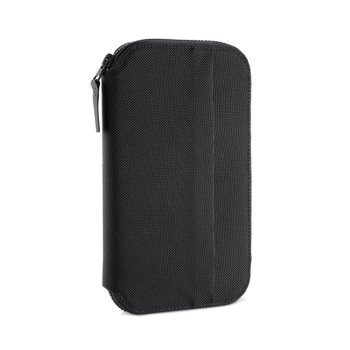 TRAVEL ZIP WALLET BLACK