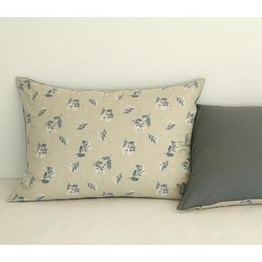 Pillow cover (cotton) - 55 Pearl flower