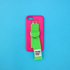 SUN CASE HOTPINK YELLOW GREEN (ILLUST)