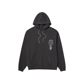 [골스튜디오] SSFC JERSEY HOODED SWEATSHIRT - CHARCOAL