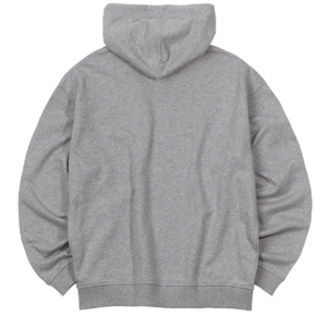 NY Hooded Zip up Gray