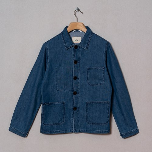 [LA PAZ/라파즈] 20PS BAPTISTA WORKER JACKET DENIM
