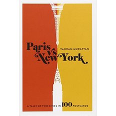 Paris versus New York Postcard Box (Cards)  - A Tally of Two Cities in 100 Postcards
