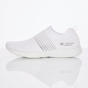 ◆Mesh stripe aqua shoes (White) (SYSH01841)