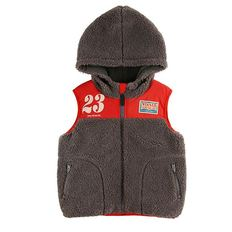 No.23 fluffy fur padding vest / BP8447385