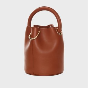 천연소가죽 한나백 LEATHER° Hannah bag - BROWN [SAMO ONDOH]