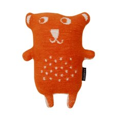 Klippan Yllefabrik Little bear stuffed animal 작은 곰인형 orange
