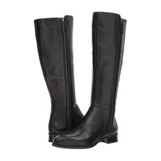 Nihari Tall Boot Black Leather