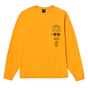 [골스튜디오] SSFC JERSEY SINGLE LONG SLEEVE - YELLOW
