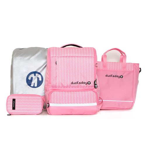 [DUCKS DAY] BACKPACK SET_LEX_PINK
