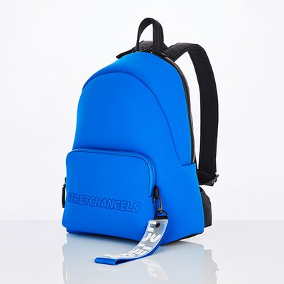 스트레치엔젤스[N.E.O] Basic zipper pocket backpack M (Blue)