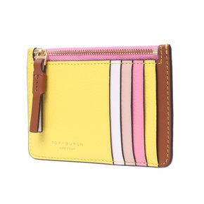 (면세판매가:141,292원)[TORY BURCH]64583.288/PERRY COLOR-BLOCK TOP-ZIP CARD CASE(5월마감환율기준)