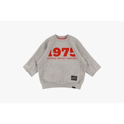 [20% SALE] 1975 cropped sleeve sweatshirt