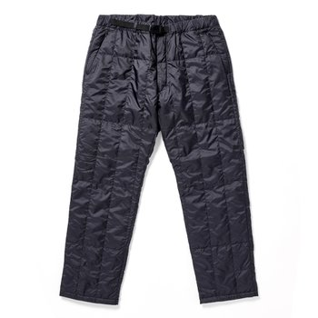Recycled MiddleDownPants BLACK