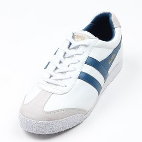 골라클래식 남녀공용슈즈 HARRIER LEATHER CMA198WX(WHITE/OCEAN BLUE)