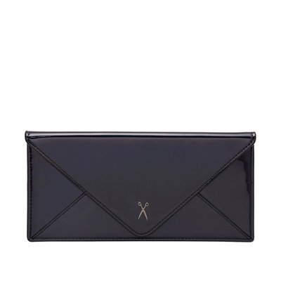 [조셉앤스테이시] Easypass Amante Flat Wallet Long Mirror Black