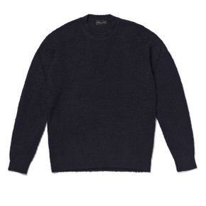 BOUCLE KNIT SWEATER 네이비