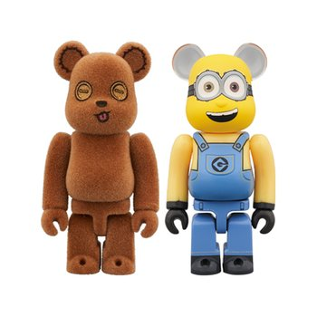 100% BEARBRICK TIM&BOB 2PACK