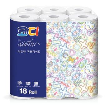 ♥[코디] 아트&카림라시드 화장지(30M*18롤)