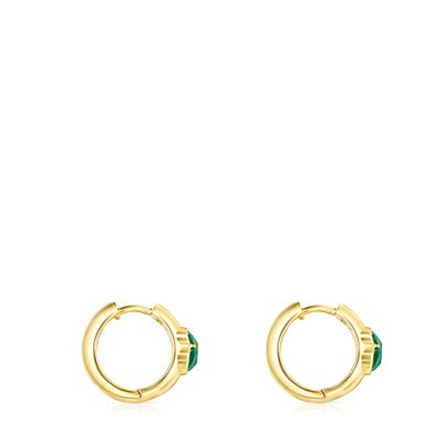 [최초출시가 160,000원][SSG 단독]Icon Color small earrings in silver vermeil and malachite/귀걸이/015433550