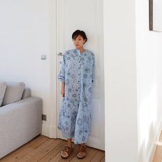 / sun & moon printed pajamas