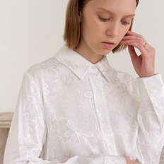 [엽페] FLOWER SILKY SHIRTS_WHITE235 (2803479)