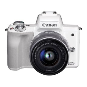 EOS M50 15-45 IS STM KIT WHITE (렌즈 포함)