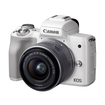 캐논 EOS M50 15-45 IS STM KIT WHITE (렌즈 포함)