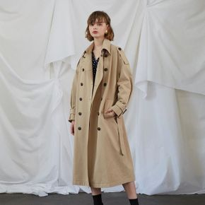New York Trench Coat - Beige
