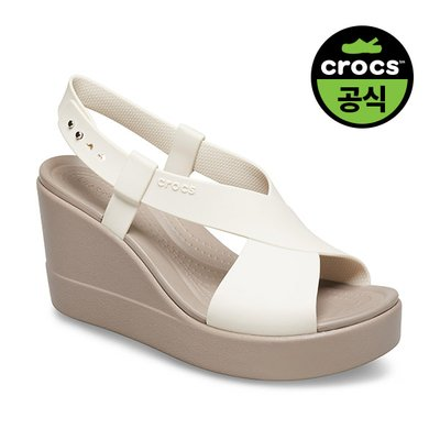 크록스공식 여성 CROCS BROOKLYN HIGH WEDGE W SMR (20SWWD206222)