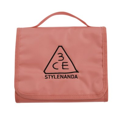 WASH BAG_SMALL PINK BEIGE