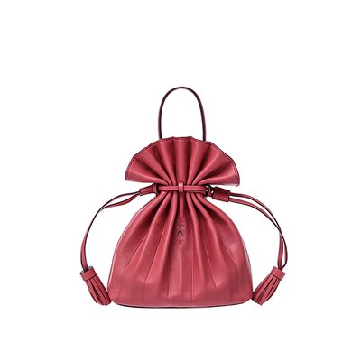 Lucky Pleats Crossbag Mineral Red (0JSK1CB40107F)