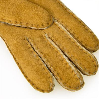 [어그] UGG SHEEPSKIN TURNDED BOW GLOVE_CHESTNUT