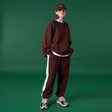 [N]Original small logo training pants-brown_(1419841)