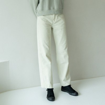 loose-fit dying pants (mint)