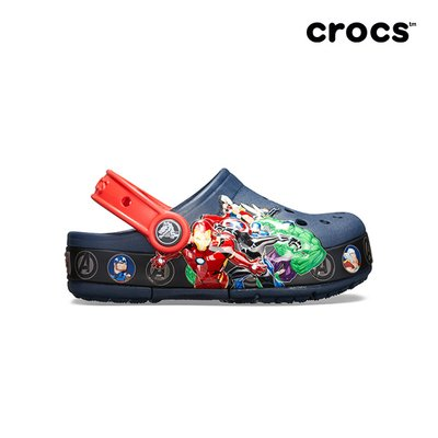 크록스공식 아동 CROCSFL MARVEL BAND LIGHT CLOG K NAVY (19SKBL205507)