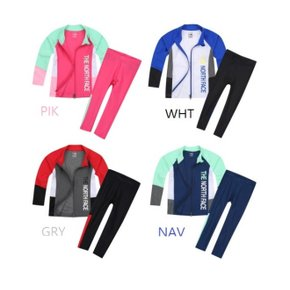 NJ5JJ05 짚 업 래쉬가드 세트 KS ZIP UP RASHGUARD SET