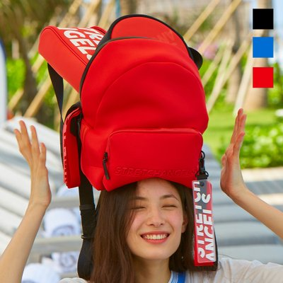 [N.E.O] Basic zipper pocket backpack M (3color)