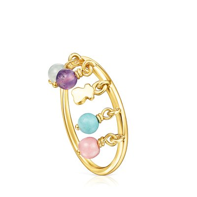 [최초출시가 109,000원]Silver Vermeil Cool Joy Ring with Gemstones/반지/018155521/54호(14호)