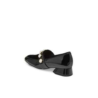 Patent pearl loafer(black) DG1DX18502BLK