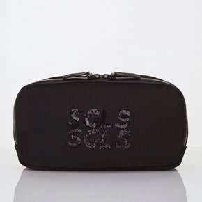 ★SYMR12841★SGLS spangle 2way hands_free bag_BLACK