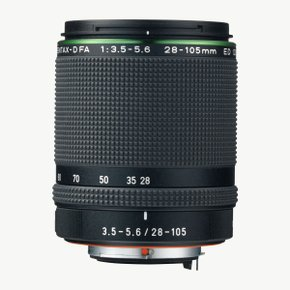 HD D FA28-105mm F3.5-5.6ED DC WR 렌즈