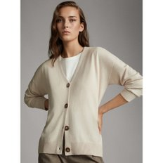 V-NECK WOOL CARDIGAN WITH BUTTONS 05650641710