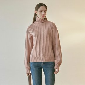 EVENING TURTLE SWEATER_PINK (4313820)