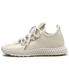 kami et muse Hologram point knit sneakers_KM19w016