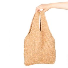 twinkle knit bag gold