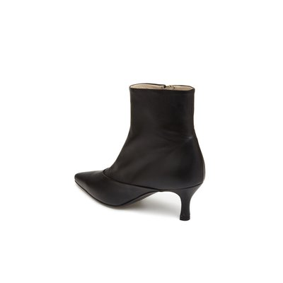 Point toe ankle boots(yellow) DG3CX18513BLK